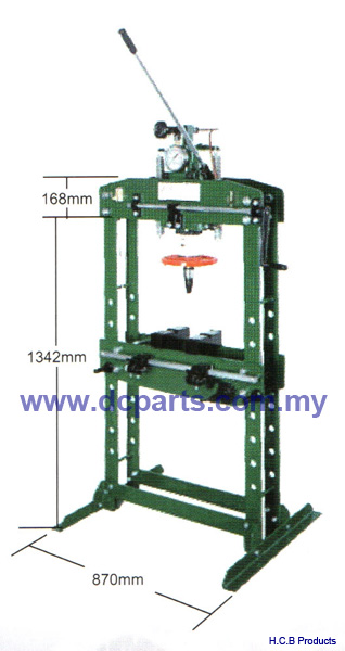 General Truck Repair Tools HEIGHTENED MANUAL HYDRAULIC PRESS 15TON A2061